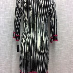 Haani Dresses - Haani Black, Gray, white and pink dress Size S